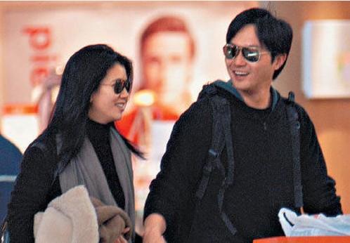 张智霖 张学友/张学友罗美薇张家辉盘点相守20年的模范夫妻