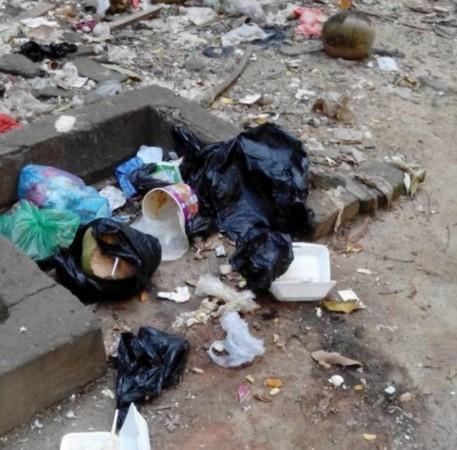 工资低难招人 海口千家村小区物业副主任扫垃圾