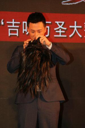 3D诡婴吉咪 广州首映 林峰自曝被诡婴吓够呛
