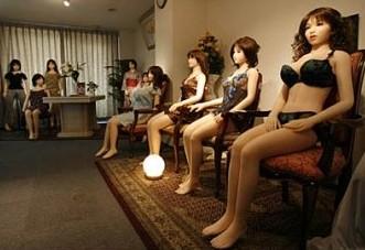 未来妓女的主力军将是仿真机器人