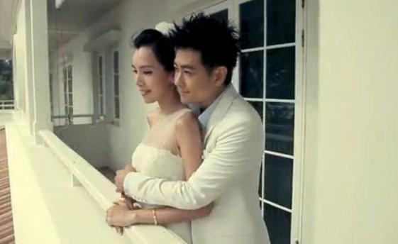 林志颖和妻子陈若仪梦幻婚礼照片曝光(组图)
