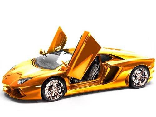 全球最贵跑车模型身镶700粒宝石 车轮合金制成
