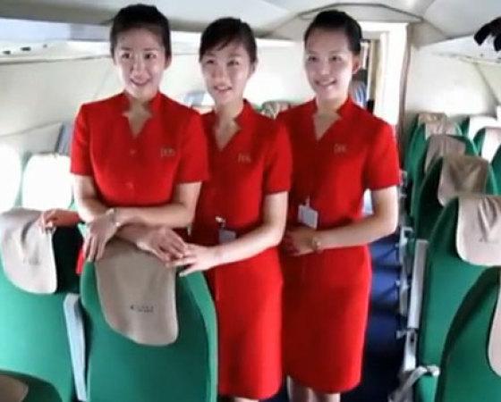 朝鲜空姐.图片