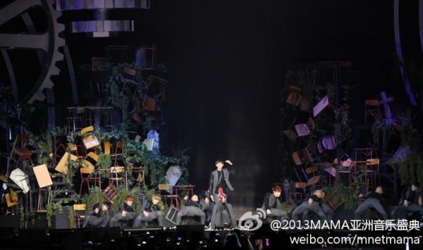 exo 颁奖典礼/2013mama亚洲音乐颁奖典礼现场直击exo获年...
