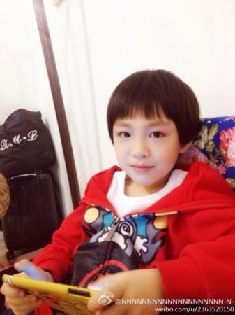 朱佳煜(图片来源:新浪微博)