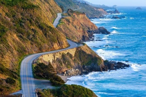 世界十大风景最美公路:太平洋海岸高速公路/图