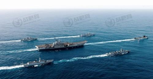 中国航母编队赴南海_中国航母编队已通过台湾海峡进入南海__海南新闻网_南海网