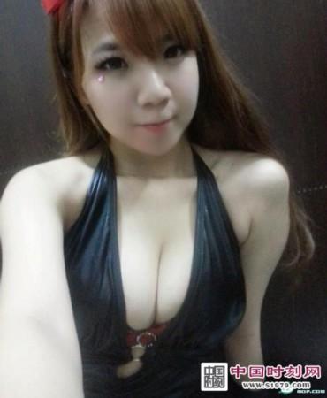笑颜巨乳被称台湾娜美