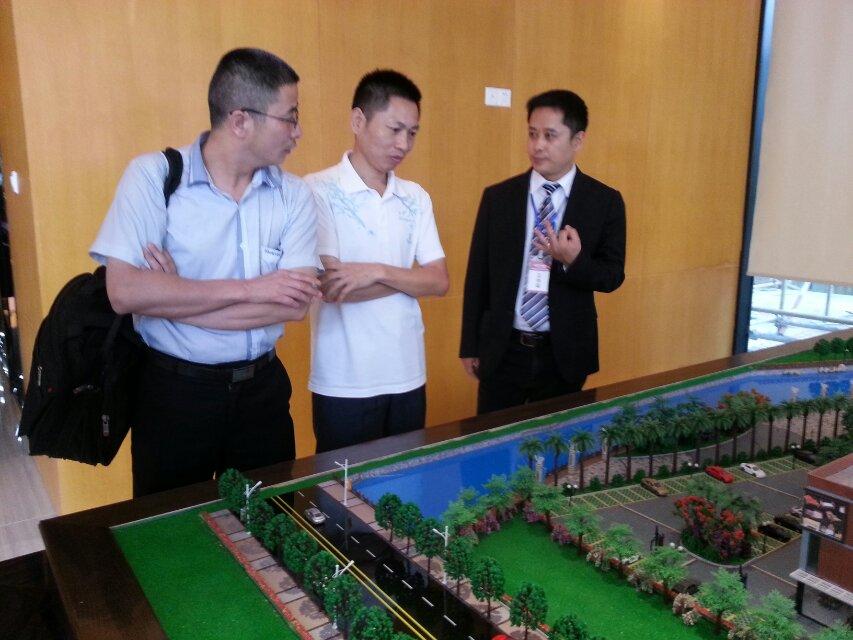 家居市场,对于海南西部家居建材博览中心表现出了浓厚的兴趣