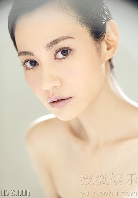 丰满杨雪_杨雪最新裸妆写真曝光 秀雪白肌肤妩媚动人