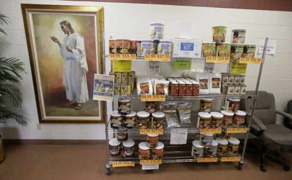 美国教会囤超长保质期粮食 - 新文明之光 - 新文明之光