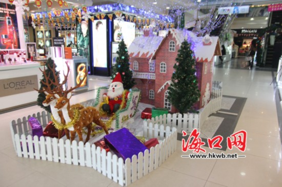 近年来,圣诞节的活动在我国逐渐增加,渐渐成为一个全城狂欢的节日.
