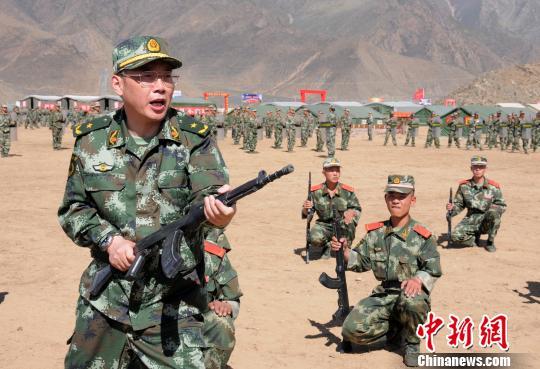 资料图片摄-武警西藏总队原司令员为藏区稳定献出生命图片
