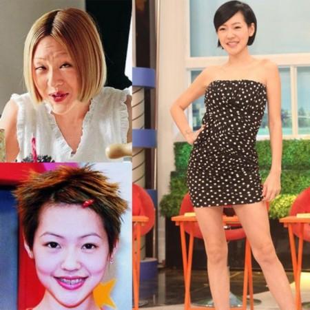 最丑女演员赵丽颖_杨幂范冰冰佟丽娅赵丽颖 女神竟留过这样的发型