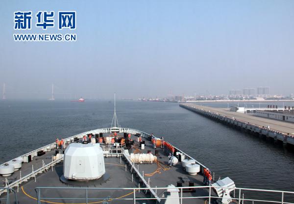 春节前南海舰队再赴远海训练 拉开新年常态战备训练序幕