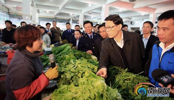 海南省委副书记、省长蒋定之赴海口调研 要求