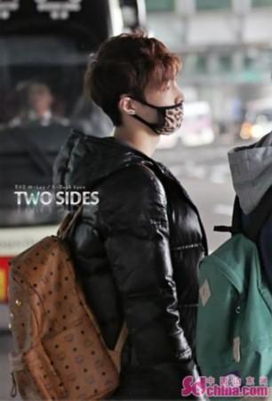 exo-m里的湖南伢子,张艺兴.   exo-m吴亦凡   鹿晗在去机场