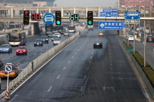 北京节前节后景象迥异