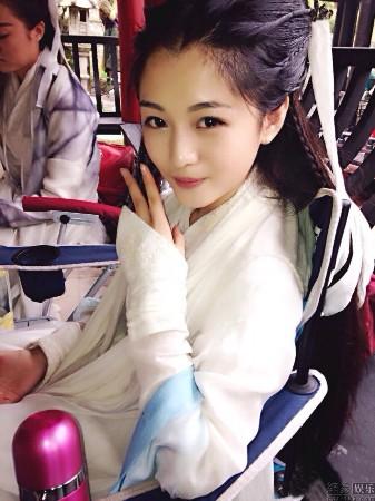 陈妍希古装图片