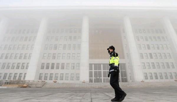 朝鲜韩国同遭受雾霾影响 中国将进入消散阶段