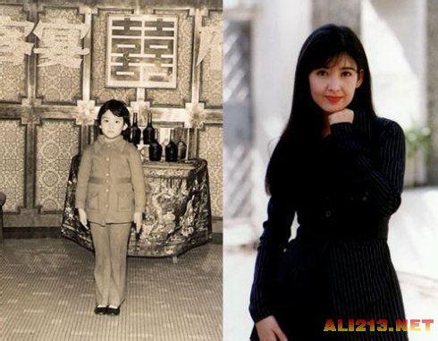 张娜拉小时候照片_偶像们小时候什么样?扒一扒明星儿时照片__海南新闻网_南海网
