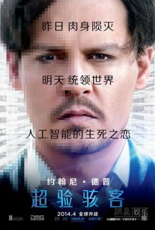 《超验骇客》曝人物海报