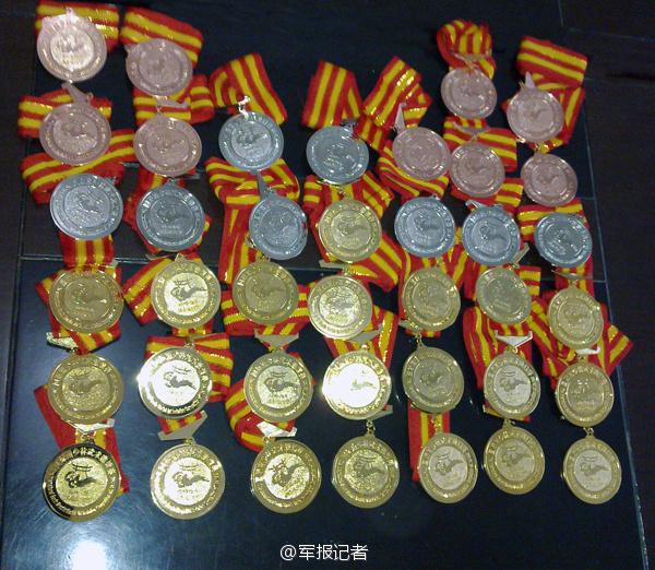 解放军31军美女教头:出身武术世家不当花瓶(组图)