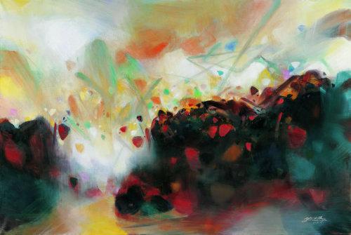 江苏省现代抽象画家