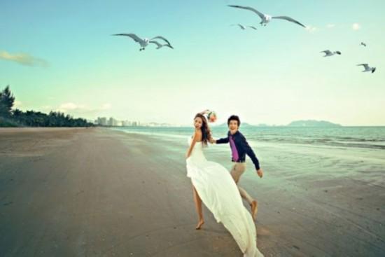婚纱拍摄_婚纱拍摄风格图片