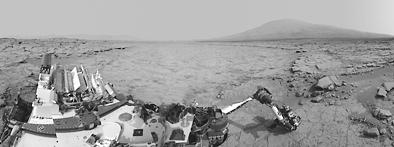科学家确认岩石中存在有机化合物 火星生命有解