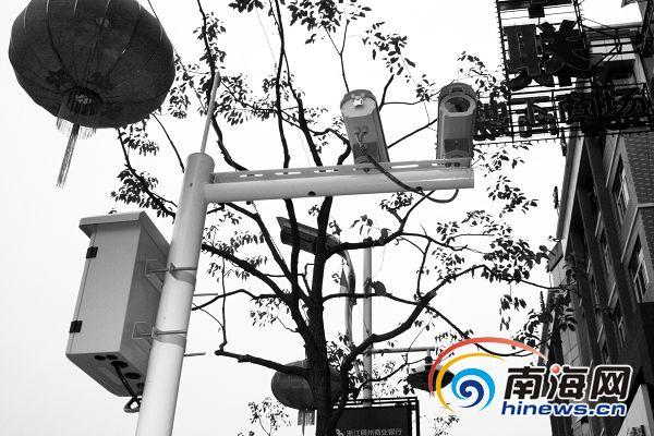 海口坡巷安装 天网 监控 帮市民找回电动车
