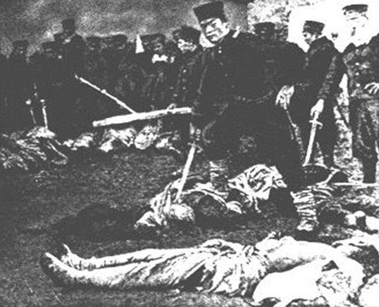 英记录甲午旅顺大屠杀:女人被斩成几段(图)__海