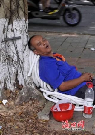 进入炎热的盛夏,容易让人感到疲劳犯困.