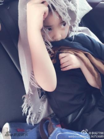 黄磊女儿黄多多萌照盘点 灵动大眼睛美丽可爱