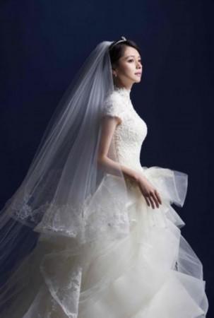 李晨与范冰冰的婚纱照