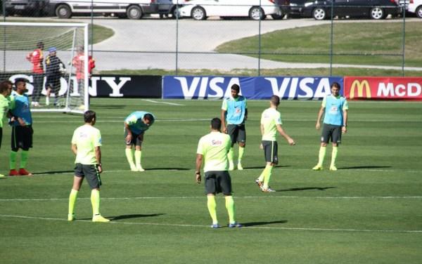 巴西队晋级八强运气成分大 内马尔需要释放自己图片