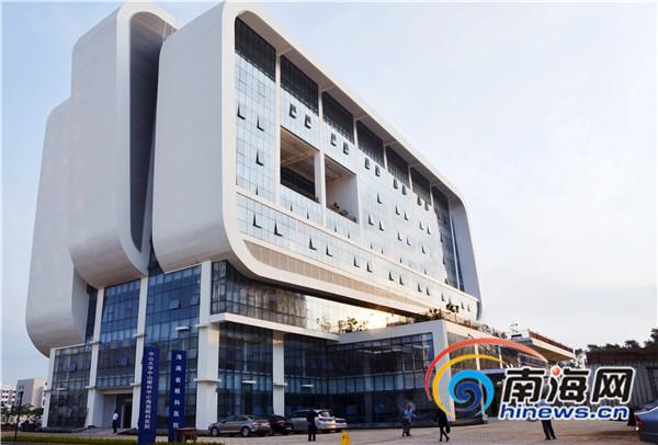 海南省眼科医院大楼. 本报照片均由中山大学中山眼科中心高清图片