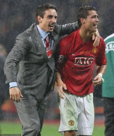 体育新闻 足球    2008年卢日尼基的那个雨夜,欧冠决赛,当时,c罗先进图片