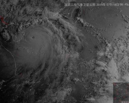 直播 关注超强台风 威马逊图片