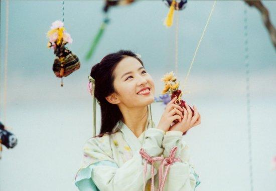 刘亦菲演过很多灵气仙气的角色,但最让我无法忘怀的还是赵灵儿-图片