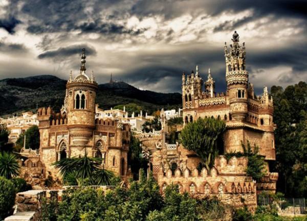风光摄影:漂亮而神秘的梦幻城堡
