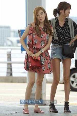 少女时代 机场/少女时代最新机场时尚照片