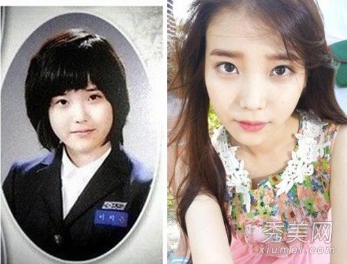 韩国10大纯天然女星 雪莉秀智iu零整容