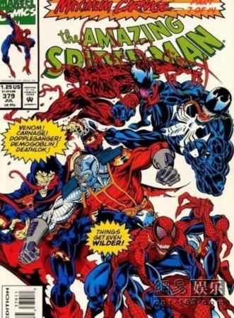神奇蜘蛛侠毒液漫画