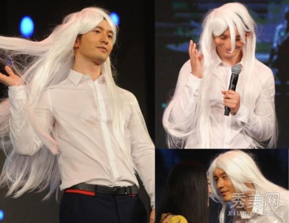 明星抢着做白发魔女范冰冰美出新高度