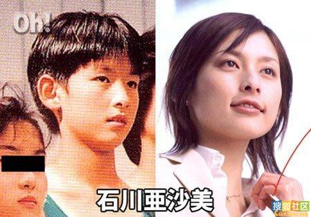 日本韩国图-曝光 看日韩明星原版到底有多丑