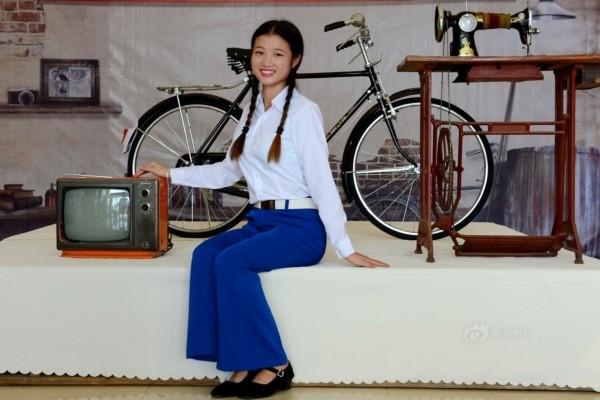 永久自行车,凤凰牌缝纫机,12寸黑白电视机,磁带录音机,喇叭裤,明星