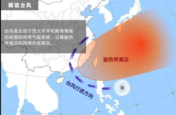 台风路径实时发布系统最新消息 海鸥台风将严重影响华南