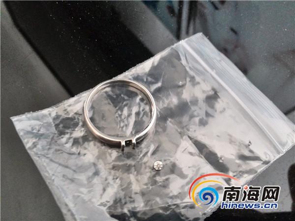 海口市民3000元买钻戒戴不到一个月钻石脱落