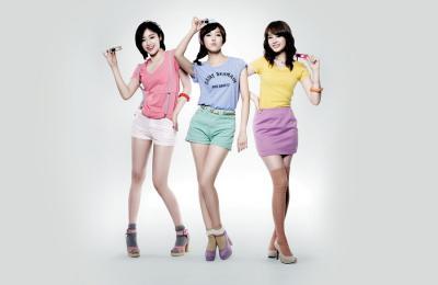 韩国女子团体都要有美腿